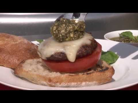 How to Make Caprese Burgers | Grilling Recipes | Allrecipes.com