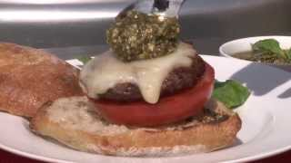 Grilling Recipes - How To Make Caprese Burgers
