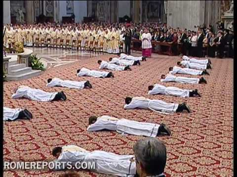 The rite of ordination