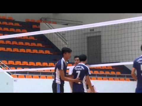 bóng chuyền THPT Nguyễn Du-CS Ngãi Giao (part1)