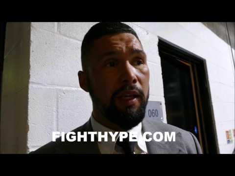 TONY BELLEW REACTS TO JORGE LINARES WIN IN ANTHONY CROLLA REMATCH; HOPES CROLLA CAN BOUNCE BACK
