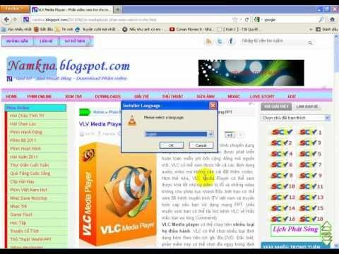 Hướng dẫn Download và cài đặt VLC mediaplayer để xem tivi dành cho mạng FPT