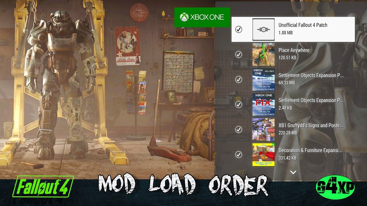 fallout 4 mods load order
