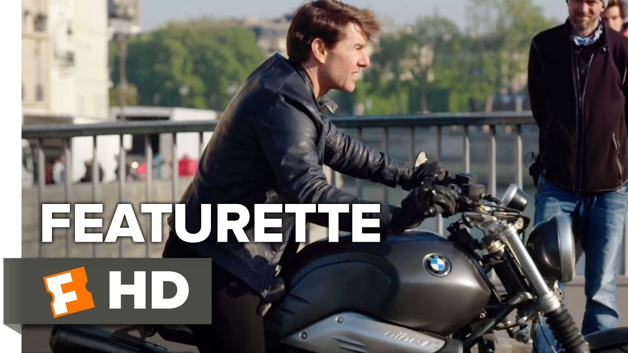 Mission Impossible Fallout Featurette Paris Motorcycle 2018