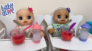 Baby Alive Real as can be baby Night Routine