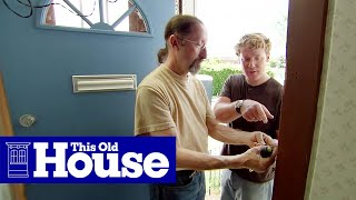 Repeat youtube video How to Repair a Broken Doorbell - This Old House
