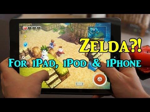 Zelda For iPad, iPod & iPhone?! - Oceanhorn App Review