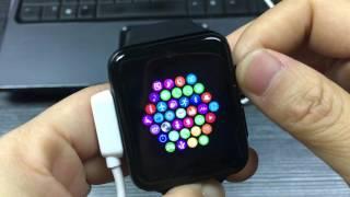 lemfo lf07 smart watch vibrate setting and app downloading