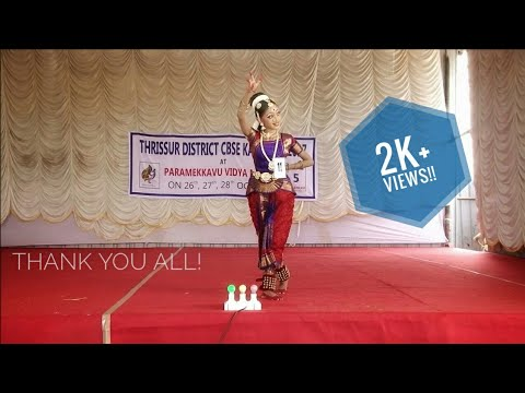 Thrissur District CBSE Kalotsav 2017||Bharatnatyam||GOWRI NANDANA
