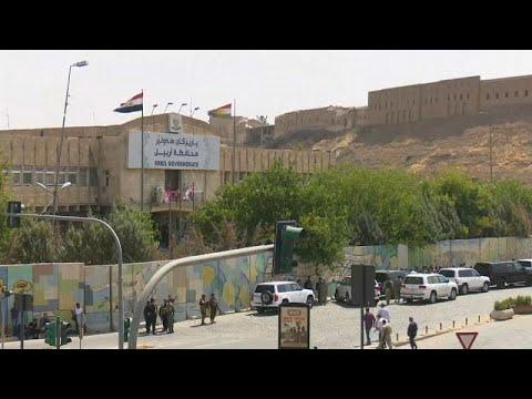 مقتل المسلح الأخير في مقر محافظة إربيل  - نشر قبل 32 دقيقة