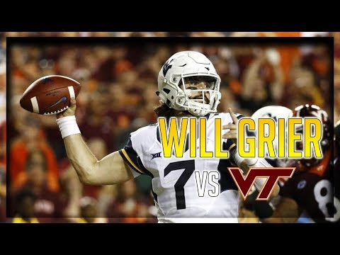 Will Grier Highlights vs Virginia Tech // 31/53 371 Yards, 3 TDs // 9.03.17