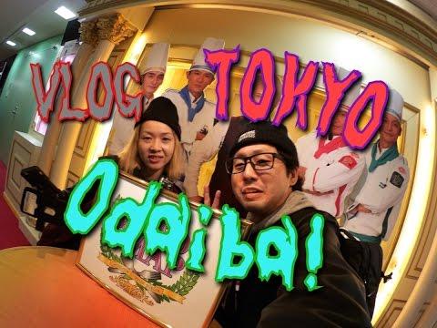 VLOG ● Tokyo,Odaiba ! Take a walk!