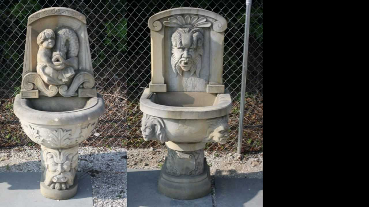Custom hand carved sculptures stone carvings