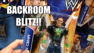 STEALING T-Shirt CENA! STOCK ROOM Snooping!! WWE MATTEL Wrestling Figure Toy Hunt!