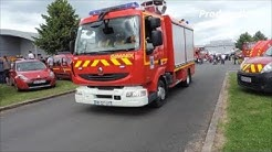 SDIS 02 VSAV, VSRM et VLTU Sapeurs-Pompiers Chauny