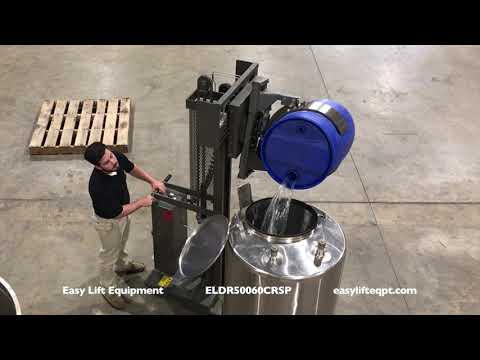 Easy Lift Equipment ELDR50060CRSP With CR Clamp For Handling Drums