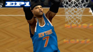 MELO IS SO SMOOTH - NBA 2K13 CREATE A LEGEND EP1