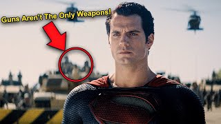 I Watched Man of Steel in 0.25x Speed and Here's What I Found