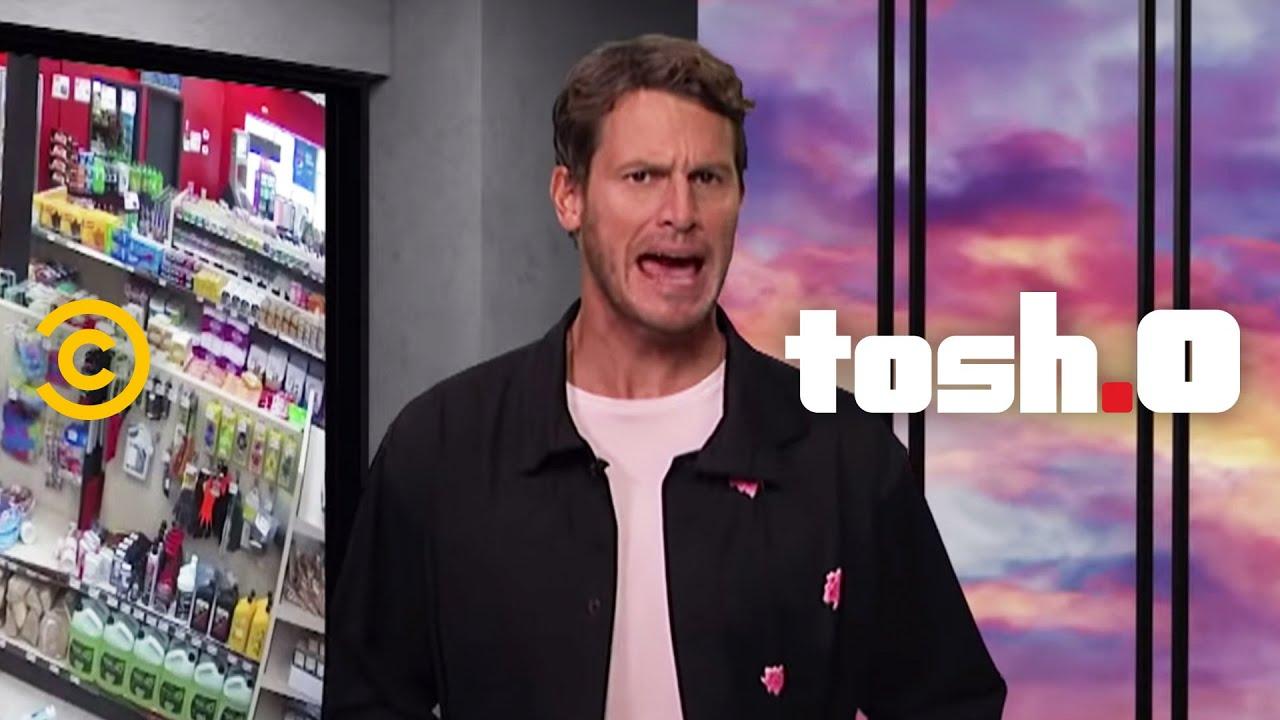 Video Breakdown: Convenience Store Escape - Tosh.0