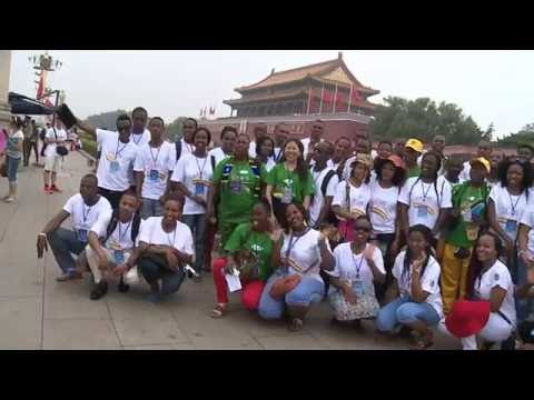 Udsm Chinese Bridge summer camp tour with university of Dar-es-salaam Students