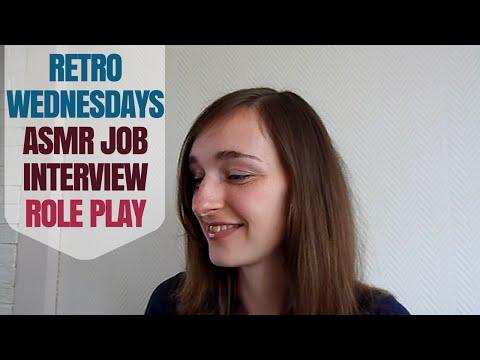 ~❃ Retro Wednesdays ❃~ Relaxing Beauty Salon ASMR Job Interview Role Play (Unisex)