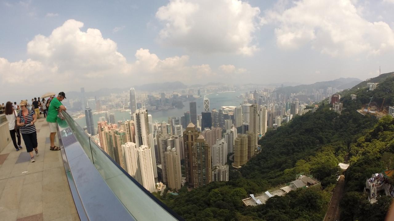 Гонг Конг городской променад - ჰონგ კონგი ურბანული პრომენადი
