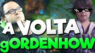 A VOLTA do gORRDENHOW!