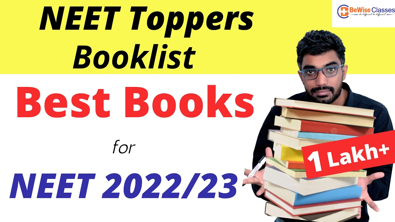 Best Books for NEET Exam Preparation| Booklist for NEET 2022 & 2023 | Must Watch