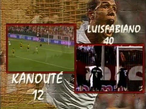 Kanouté versus Luis Fabiano