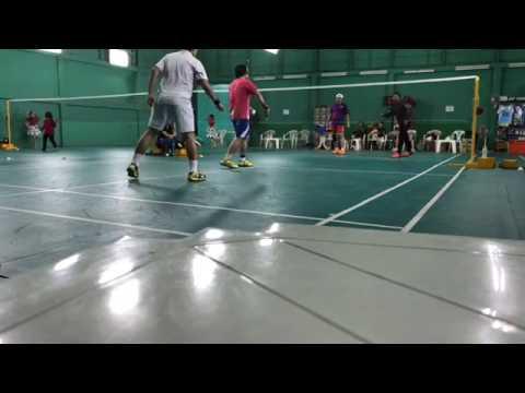 Badminton Cambodia Cam Steven ប្រកួតស៊ីសាច់ ហូតឈាម នរណាអាចដឹងមុនថានរណាឈ្នះបាន១០០០៛