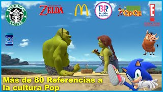 Todas las Referencias dentro de SHREK 2