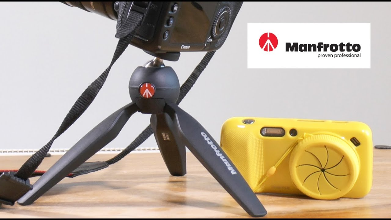 manfrotto pixi mini tripod test youtube. Black Bedroom Furniture Sets. Home Design Ideas