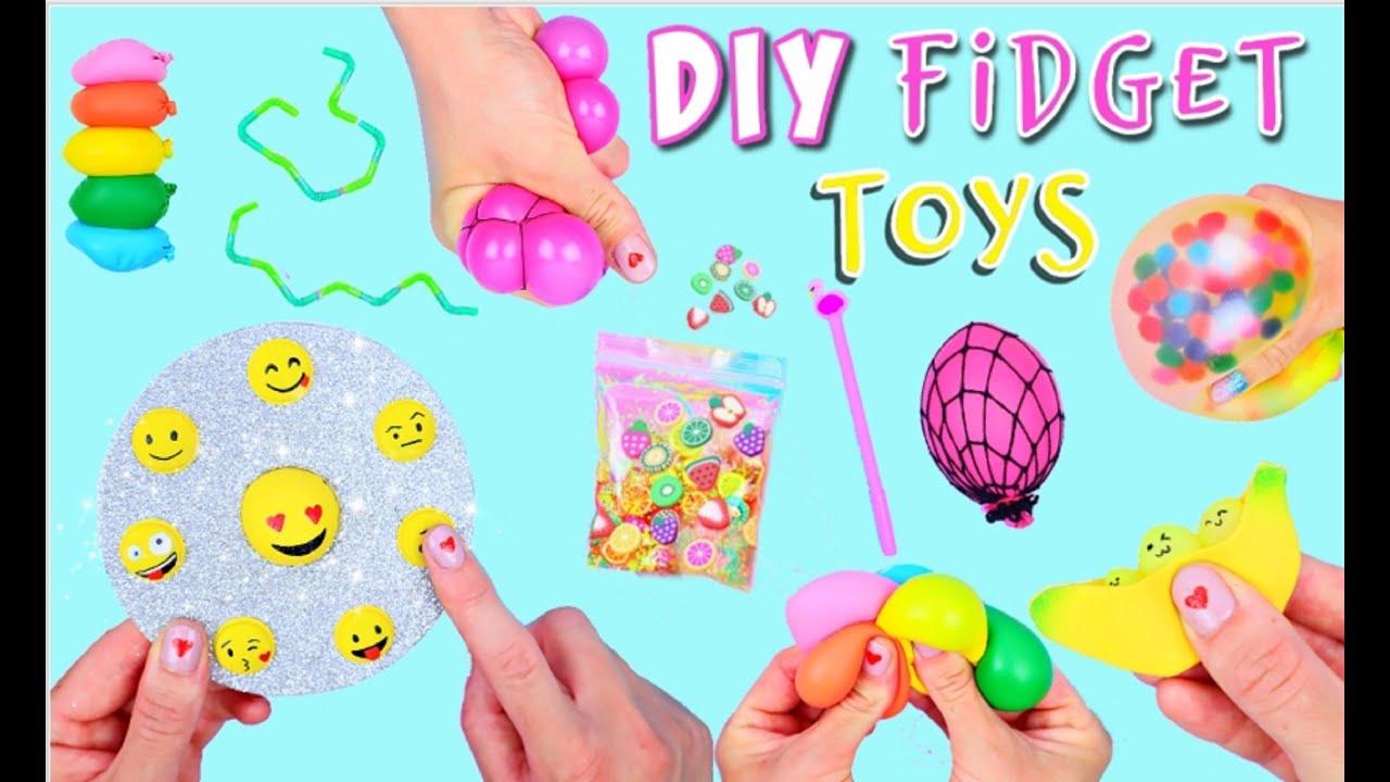 7 DIY FIDGET TOYS IDEAS - Viral TikTok Fidget Toys You Will Love - Emoji POP IT and much more!