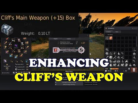 BDO - Cliff's Weapons have a Higher Chance to Succeed in Enhancement