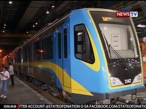 SONA: 1 sa 80 test na gagawin sa Dalian Trains mula China, ipinakita ng MRT sa media