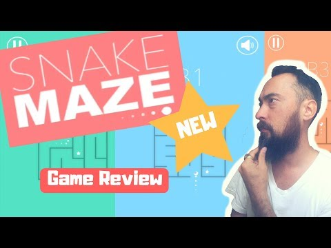 Snake Maze - Buildbox Game Review 318 - Swipe Your Way Through The Mazes