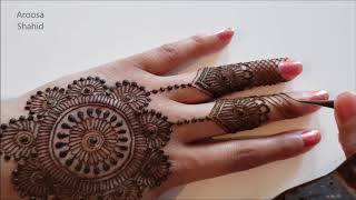 Classic Henna Mandala Design