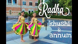 Radha Cover by Khushi & Annum (Bhangra Funk)
