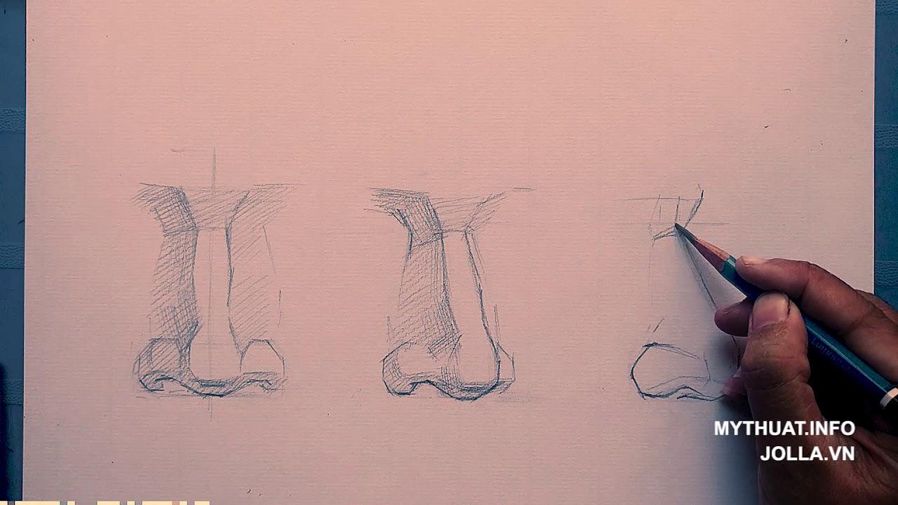 Hướng dẫn vẽ chân dung- mũi các góc độ.mp4
