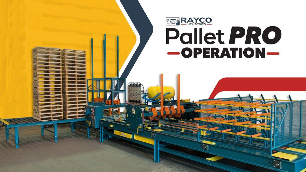 Pallet Machines - Rayco Pallet Pro