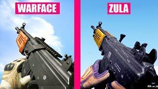 Warface Gun Sounds vs ZULA