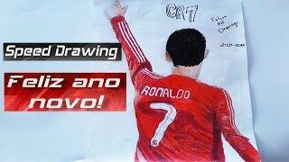 Desenho rápido Cristiano Ronaldo(Daniel)/Drawing Cristiano Ronaldo/Dibujo Cristiano Ronaldo