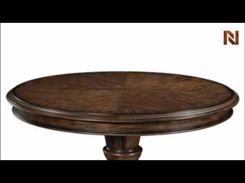 Bernhardt James Island Pedestal Dining Table Base 314-273 Palmetto