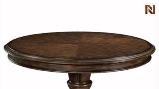 Bernhardt James Island Pedestal Dining Table Base 314-273 Palmetto