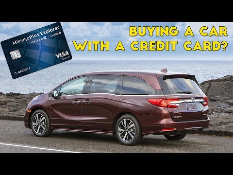 Should You Buy Car With Credit Card