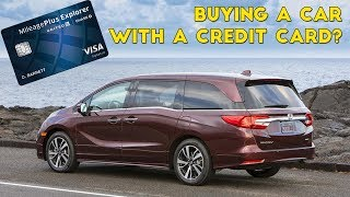 Should You Buy a Car With a Credit Card?