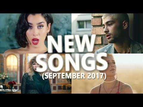 New Songs September 2017 USA, United Kingdom, Australia