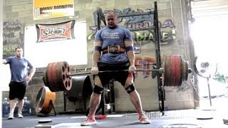 Raw Deads and Cambered Bar Free Squats | Mark Bell Commentary | SuperTraining.TV