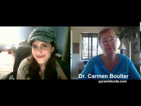 Natalie Marie Hart Interviews Dr Carmen Boulter about the discovery of the Egyptian Labyrinth