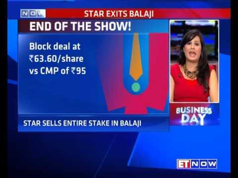 Star Network Sells Entire Stake In Balaji Telefilms
